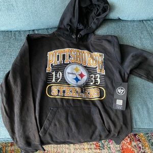 47Brand Pittsburgh Steelers Hooded Sweatshirt